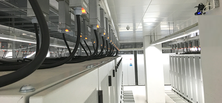 Packet Power Busway monitoring