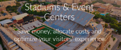 Stadiums & Event Centers use Packet Power monitoring