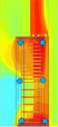 High heat cabinet